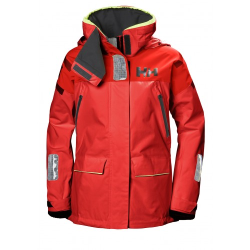 Helly Hansen Dames Zeiljas Skagen Offshore Alert Red
