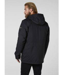 Helly Hansen Heren Winterjas Harbour Parka Black 1