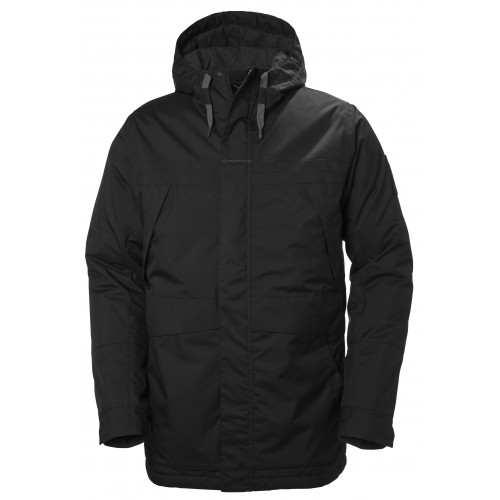 Helly Hansen Heren Winterjas Harbour Parka Black