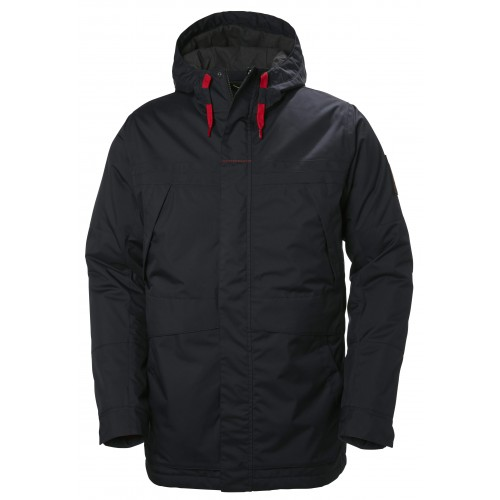 Helly Hansen Heren Winterjas Harbour Parka Navy