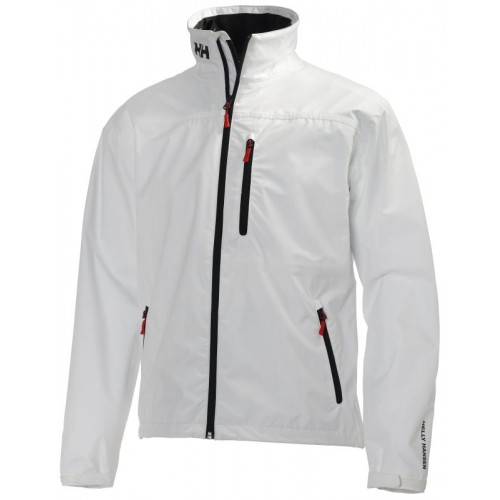 Helly Hansen Heren Zeiljas Crew Midlayer Jacket Wit