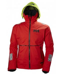 Helly Hansen Heren Zeiljas HP Foil Alert Red 1