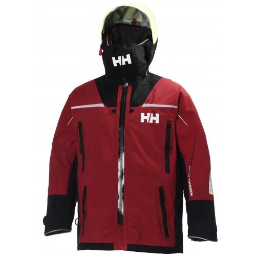 Helly Hansen Heren Zeiljas Ocean Jacket Red