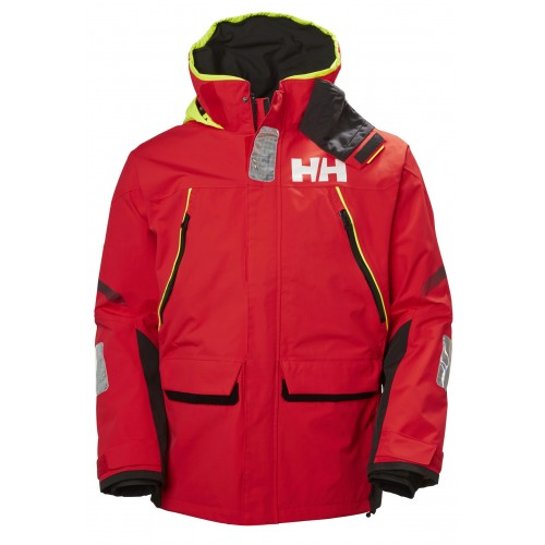 Helly Hansen Heren Zeiljas Skagen Offshore Alert Red