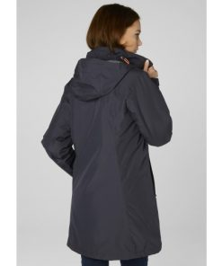 Winterjas Aanbieding.Helly Hansen Dames Winterjas Aden Insulated Graphite Blue Aanbieding