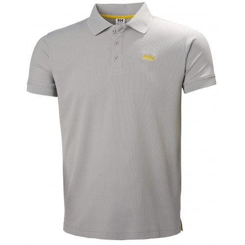 Helly Hansen Heren Polo Driftline Grey