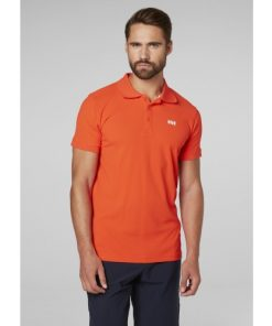 Helly Hansen Heren Polo Driftline Orange 2