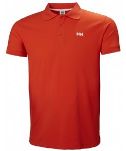 Helly Hansen Heren Polo Driftline Orange