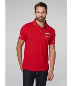 Helly Hansen Heren Polo HP Racing Red 2