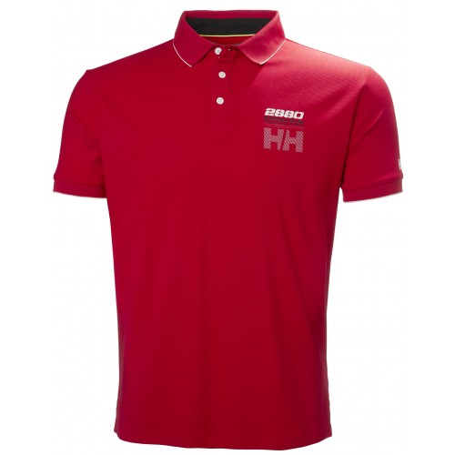 Helly Hansen Heren Polo HP Racing Red
