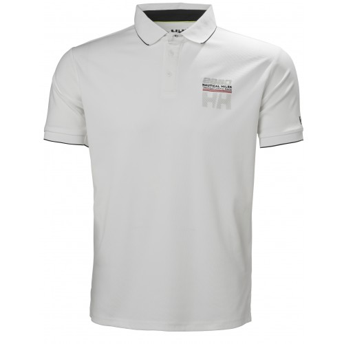 Helly Hansen Heren Polo HP Racing White