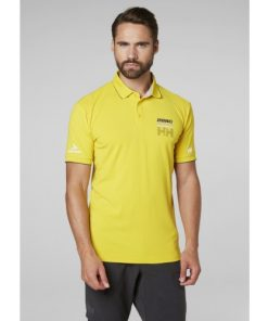 Helly Hansen Heren Polo HP Racing Yellow 2