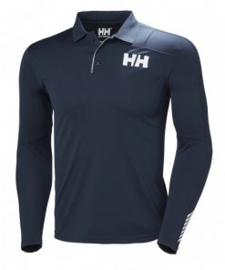 Helly Hansen Heren Polo Lifa Active Navy