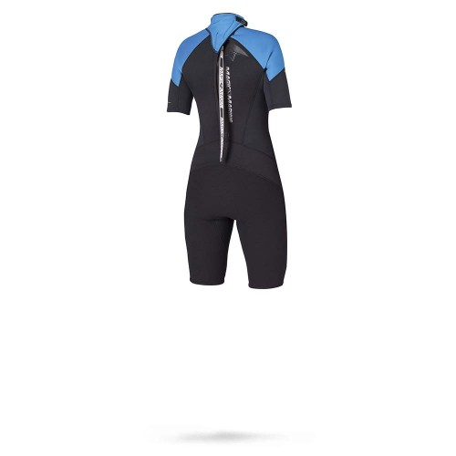 Magic Marine Dames Wetsuit Ultimate Shorty 3-2 D-L Blauw Oud Model SALE 1