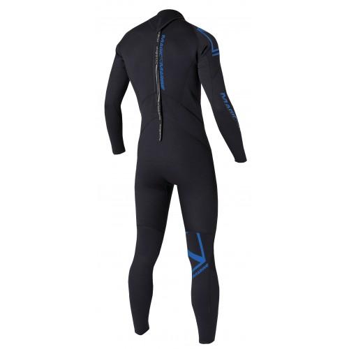 Magic Marine Heren Wetsuit Brand 5-4 D-L Zwart Oud Model SALE 1