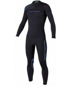 Magic Marine Heren Wetsuit Brand 5-4 D-L Zwart Oud Model SALE