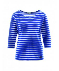 Armor Lux Dames Gestreept Shirt Sailor Escadre Milk