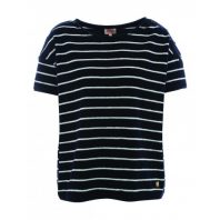 Armor Lux Dames T-shirt Heritage Marine Deep