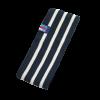 Breton Stripe Streepjes Haarband Fleece Navy-Natural