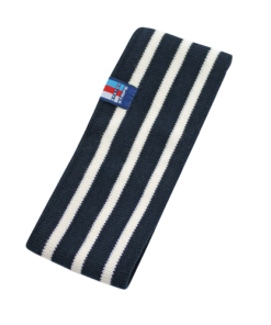 Breton Stripe Streepjes Haarband Navy-Natural
