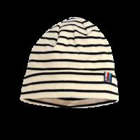 Breton Stripe Streepjes Muts Natural-Navy