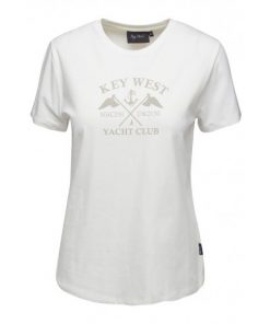 Key West Dames T-Shirt Kiel White