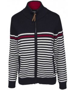 Key West Dames Windstopper Christine Stripe Navy-White