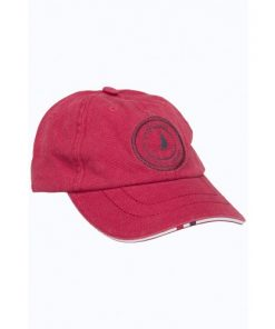 Key West Heren Pet Captain Cap Red