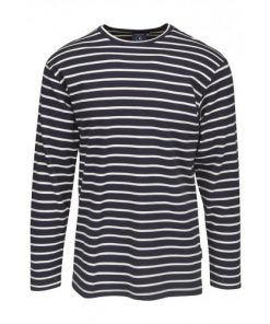 Key West Heren Shirt Grenaa Stripe Navy
