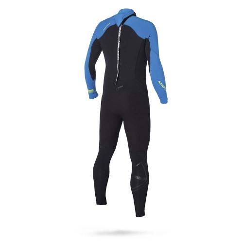 Magic Marine Heren-Junior Wetsuit Ultimate 5-3 D-L Blauw Oud Model SALE 1
