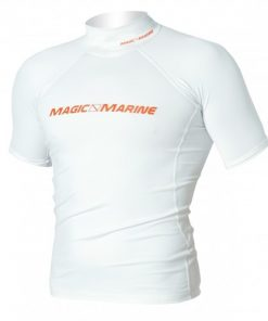 Magic Marine T-Shirt UV Cube Rash Vest S-S Wit Oud Model SALE