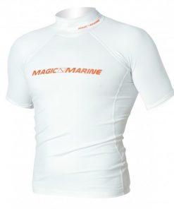 Magic Marine T-Shirt UV Cube Rash Vest S-S Wit Oud Model SALE