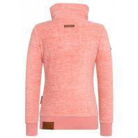 Naketano Dames Fleece Vest Hamza Bau Ma J II Rose Melange 1