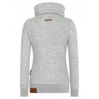 Naketano Dames Fleece Vest Redefreiheit Grey Melange 1