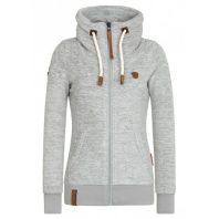 Naketano Dames Fleece Vest Redefreiheit Grey Melange