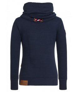 Naketano Dames Sweater Hoodie Reorder VIII Navy 1