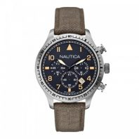 Nautica Heren Horloge BFD 105 Chrono 44 mm Groen Oud Model SALE