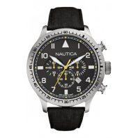 Nautica Heren Horloge BFD 105 Chrono 50 mm Zwart Oud Model SALE