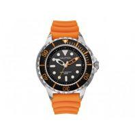 Nautica Heren Horloge NMX 650 50 mm Oranje Oud Model SALE