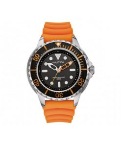 Nautica Heren Horloge NMX 650 50 mm Oranje Oud Model SALE