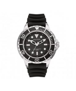 Nautica Heren Horloge NMX 650 50 mm Zwart Oud Model SALE