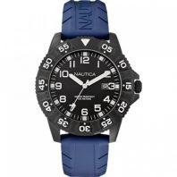 Nautica Heren Horloge NSR 103 45 mm Blauw Oud Model SALE
