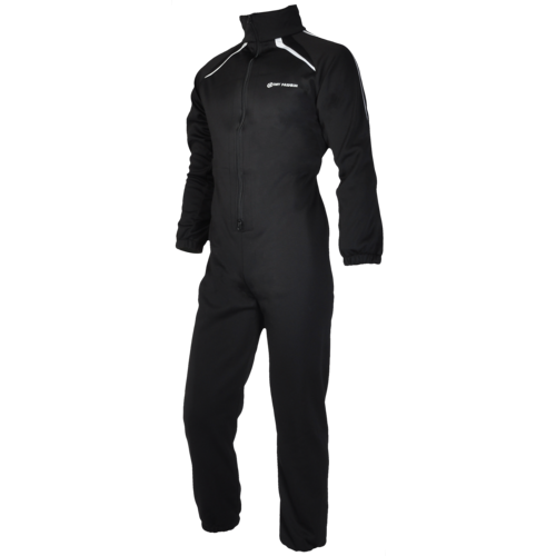 Dry Fashion Fleece Overall Zwart