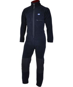 Dry Fashion Kinderen Fleece Overall Navy
