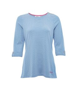 Dubarry Dames Shirt Portmagee Blue