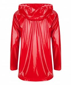 Happy Rainy Days Dames Jas Ronja Rood 1