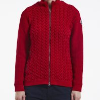 Holebrook Dames Vest Amelia Windproof Red2
