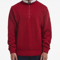 Holebrook Heren Trui Classic WP Windproof Red2