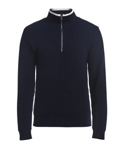 Holebrook Heren Trui Windproof Zipper Navy
