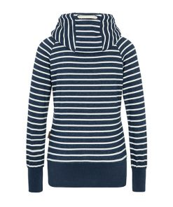 Naketano Dames Hoodie Trui Was Machen Ficken Stripe Hype 1